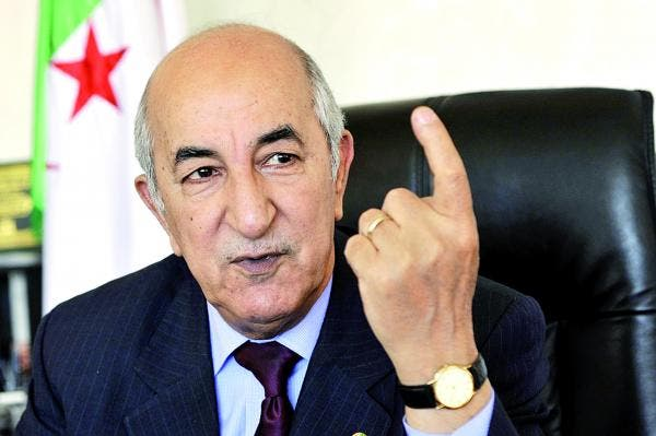 عبد المجيد تبون رئيس الوزراء الجزائري المقال