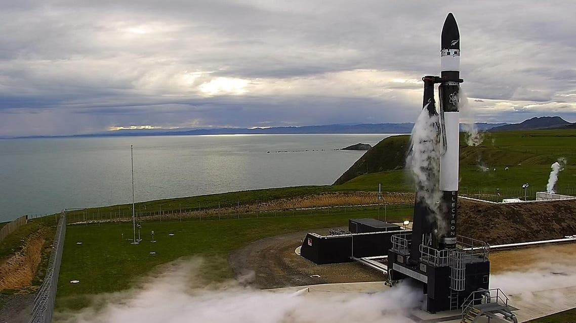 California-based company Rocket Lab said Thursday it had launched a test rocket into space from its New Zealand launch pad, although the rocket didn't reach orbit as hoped. (AP)