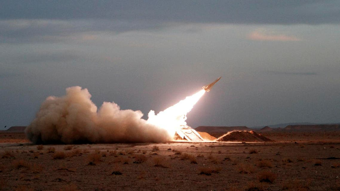 In this photo obtained from the Iranian Students News Agency, ISNA, a surface-to-air missile is fired by Iran's army, during a maneuver, in an undisclosed location in Iran, Tuesday, Nov. 13, 2012. (AP)