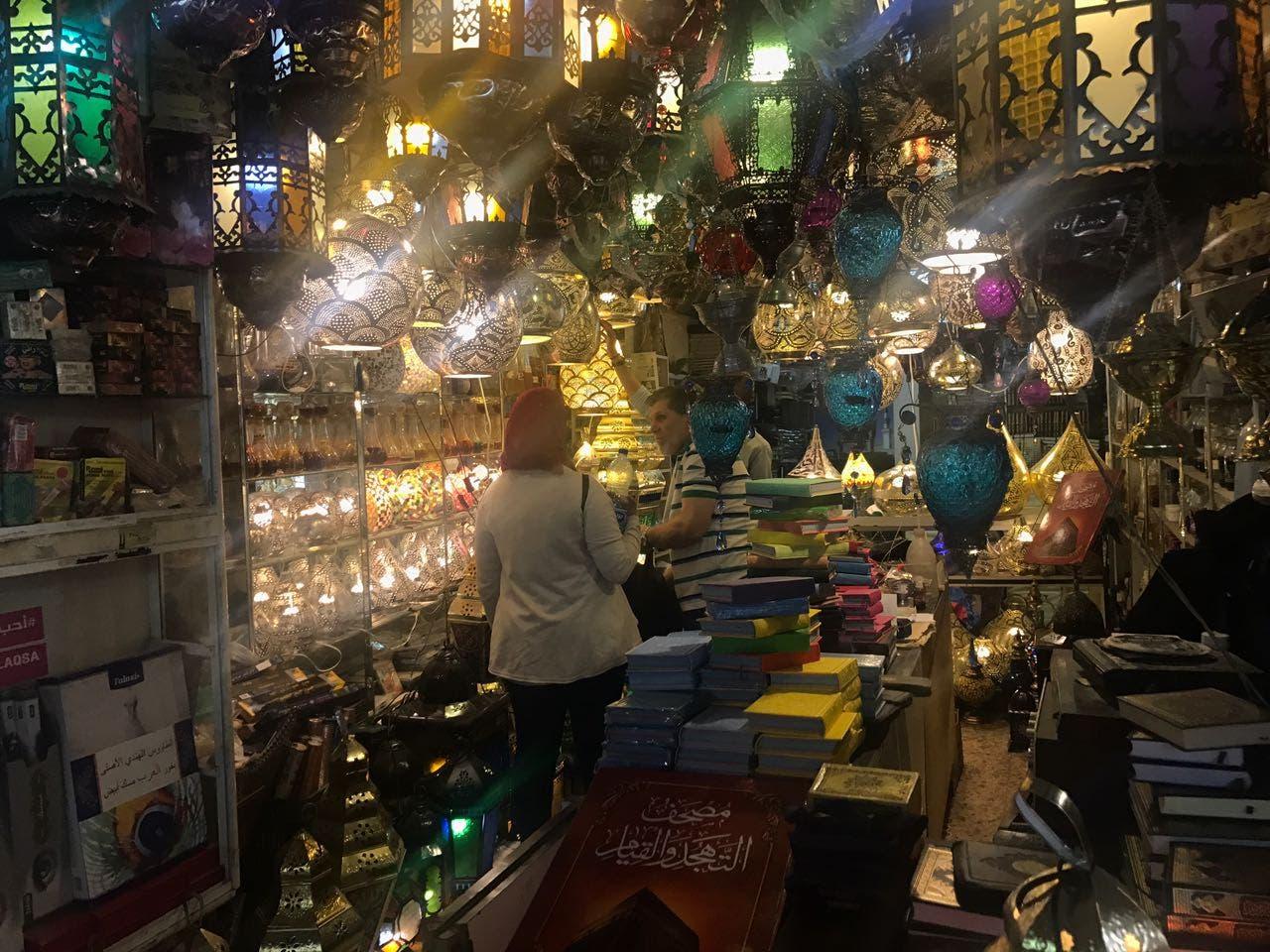 الأسواق الفلسطينية في رمضان