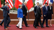 Trump and other leaders differ on trade, climate at G7