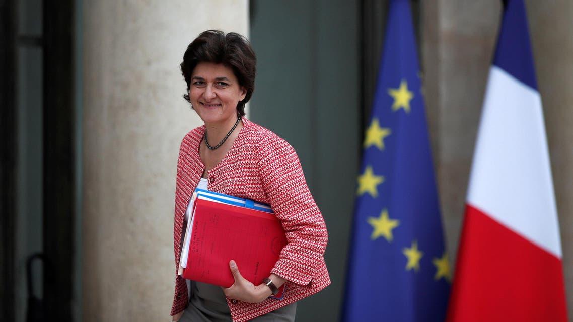 وزيرة القوات المسلحة الفرنسية سيلفي غولار