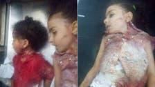 أول صور للأطفال ضحايا الهجوم على حافلة الأقباط بالمنيا