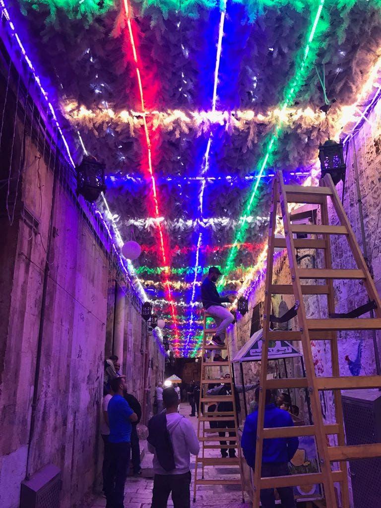 زينة رمضان في القدس