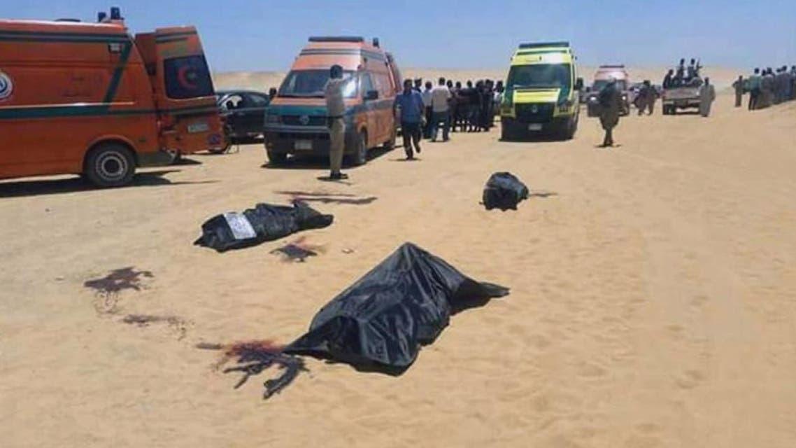 THUMBNAIL_ عشرات الضحايا في هجوم على حافلة أقباط بالمنيا