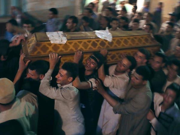 مصر تشيع جثامين ضحايا اعتداء المنيا وسط أجواء من الحزن