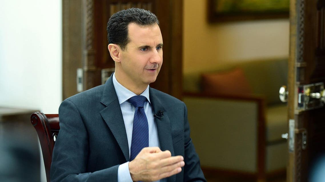 Bashar al assad photo from Reuters