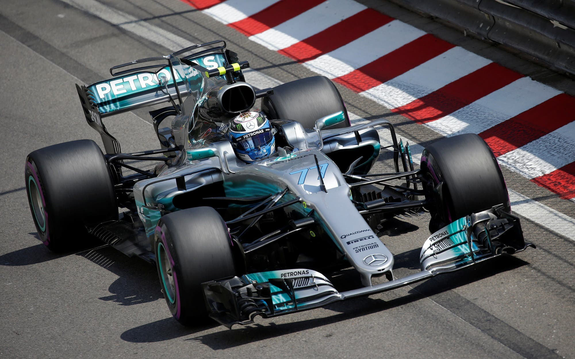 Monaco Grand Prix Mercedes' Valtteri Bottas