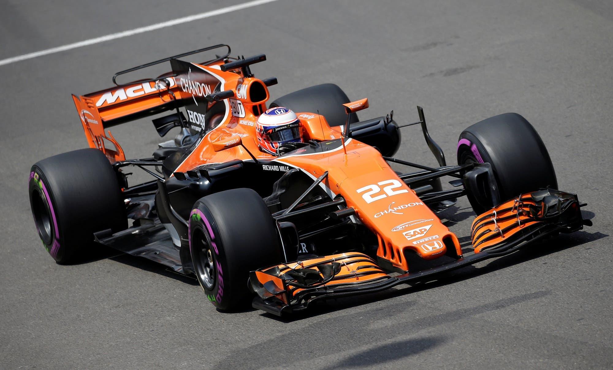 Jenson Button in Monaco, Reuters