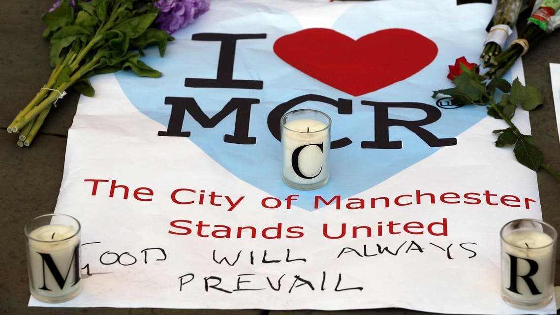 Manchester attack, AP photo