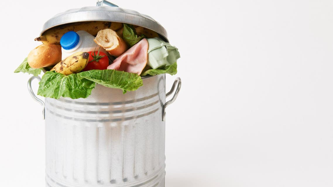 shutterstock image of food waste