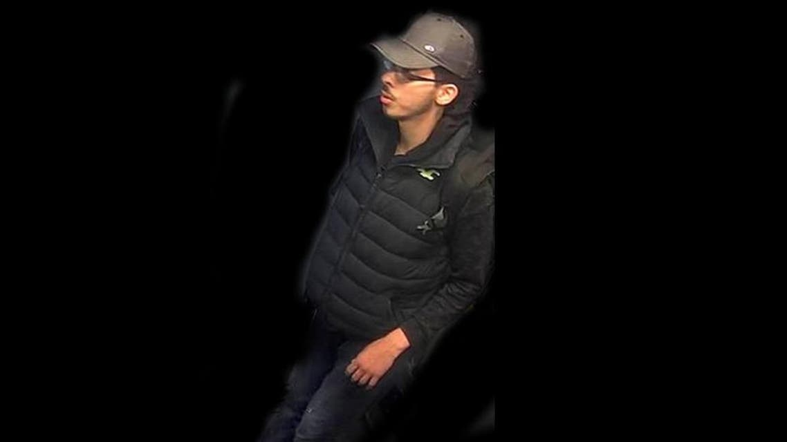 The photographs taken from CCTV footage show a bespectacled Abedi. (Photo courtesy: Greater Manchester Police)