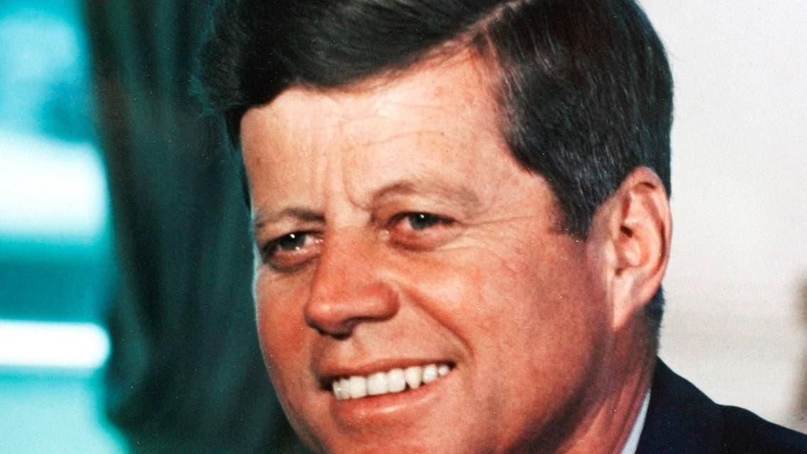 Reuters photo of John F. Kennedy