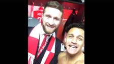 VIDEO: Arsenal players dance to 'Despacito' in locker room after FA Cup win