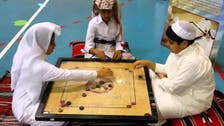 Traditional carrom board game comes back to life in the Gulf during Ramadan