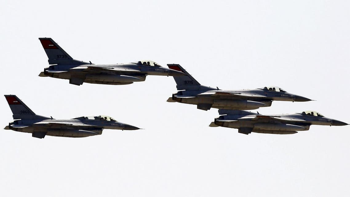 Egyptian air force planes parade during the inauguration ceremony of the new Suez Canal, in Ismailia, Egypt, August 6, 2015. (File photo: Reuters)