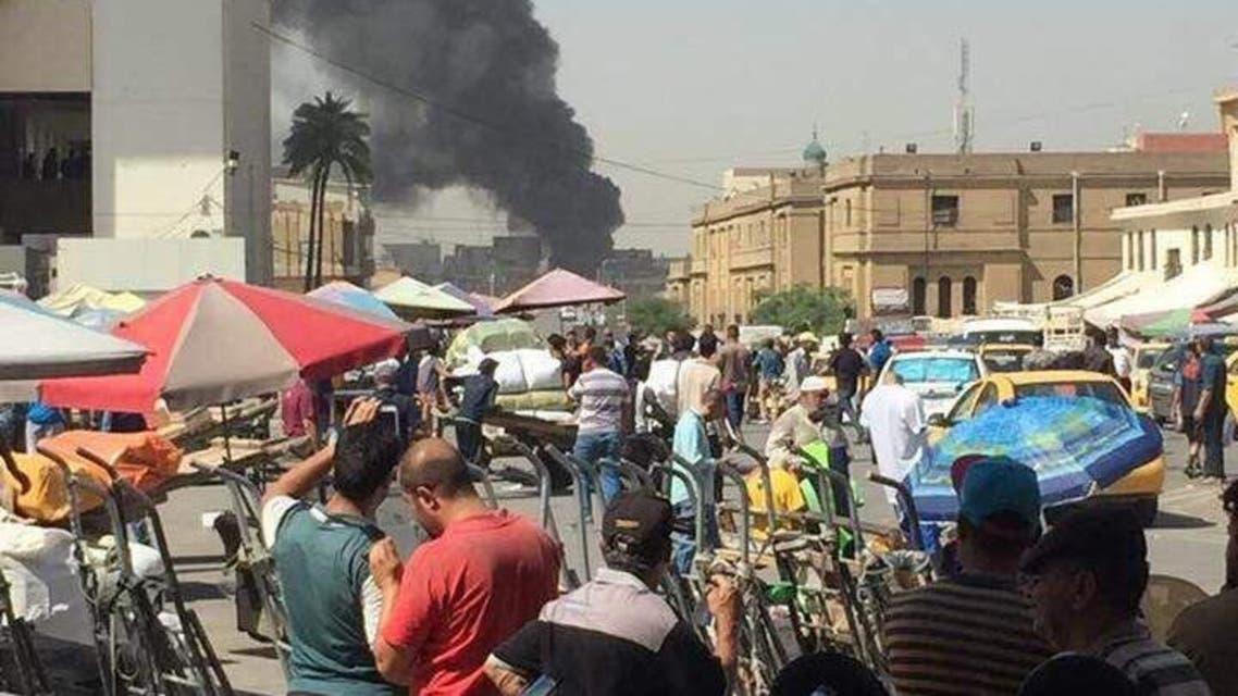7 قتلى بانفجار سيارة مفخخة وسط بغداد