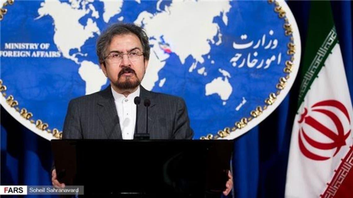 المتحدث باسم الخارجية الايرانية بهرام قاسمي