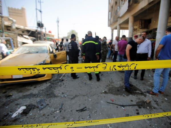 """انفجار سيارة أمام """"هيئة التقاعد"""" في بغداد.. ومقتل 11"""
