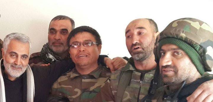 قادة سليماني الاربعة الذي قتلوا بسوريا
