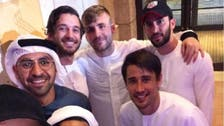 WATCH: Premier League stars wearing kandoras while in Dubai