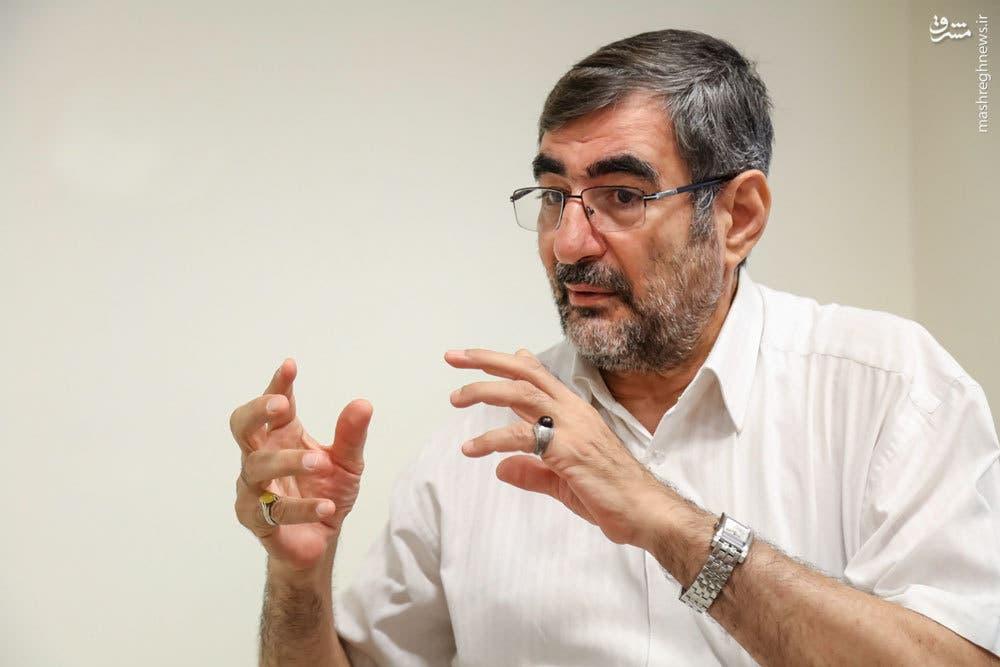 الجنرال محمد علي فلكي الذي أعلن تشكيل جيش التحرير الشيعي