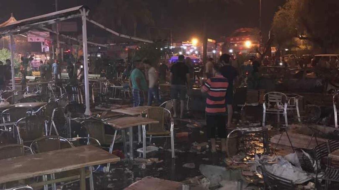 من انفجار الكرادة ببغداد