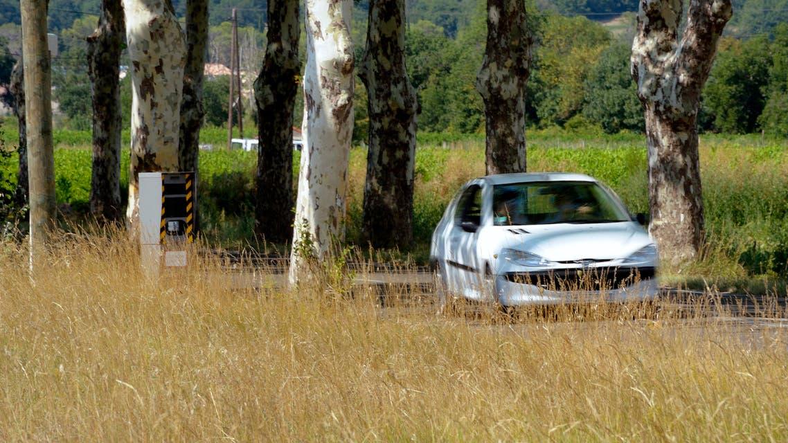 سيارة فرنسا رادار