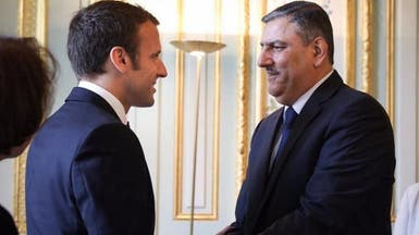 ماكرون يؤكد للمعارضة السورية دعمه للانتقال السياسي