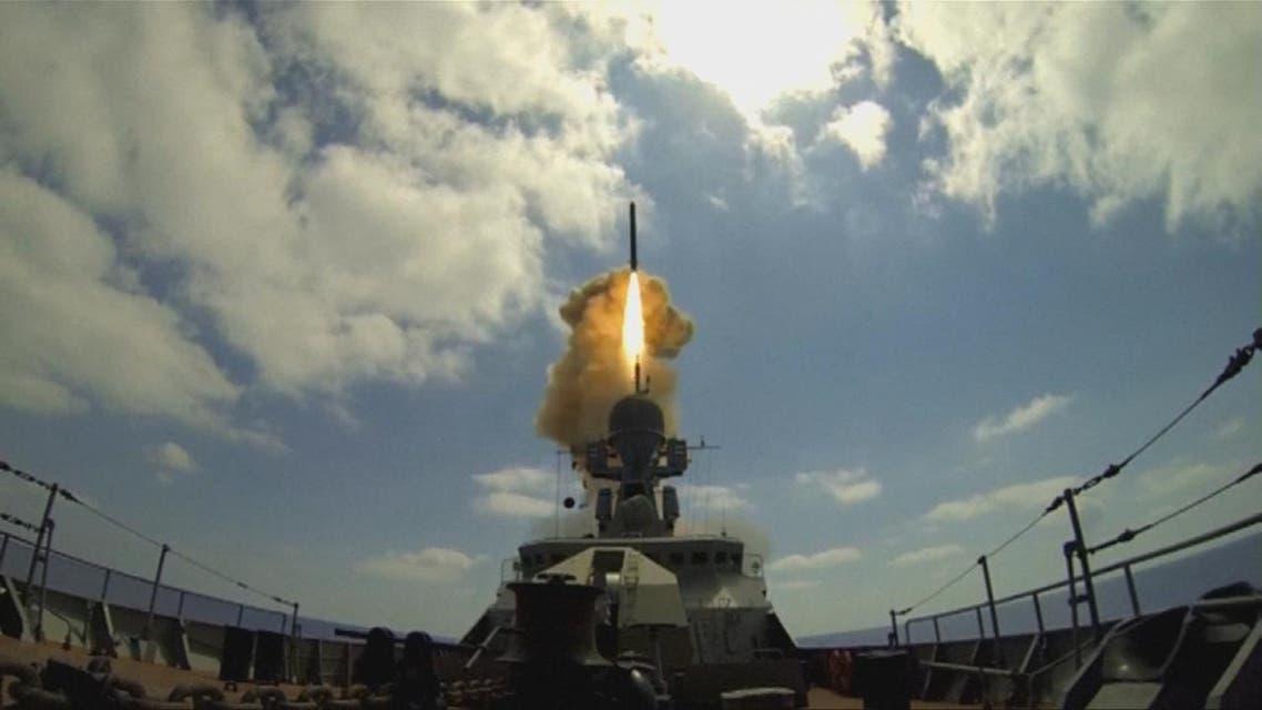 THUMBNAIL_ روسيا تقصف داعش قرب تدمر من المتوسط
