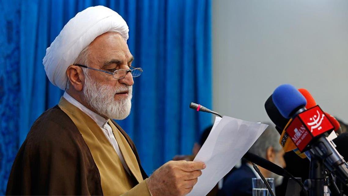 المتحدث باسم القضاء الايراني، غلام حسين محسني إيجئي