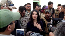 Nadia Murad, after returning home, urges Iraq to try ISIS supporters