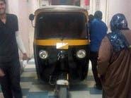 """""""توك توك"""" يتجول داخل مستشفى حكومي في مصر"""