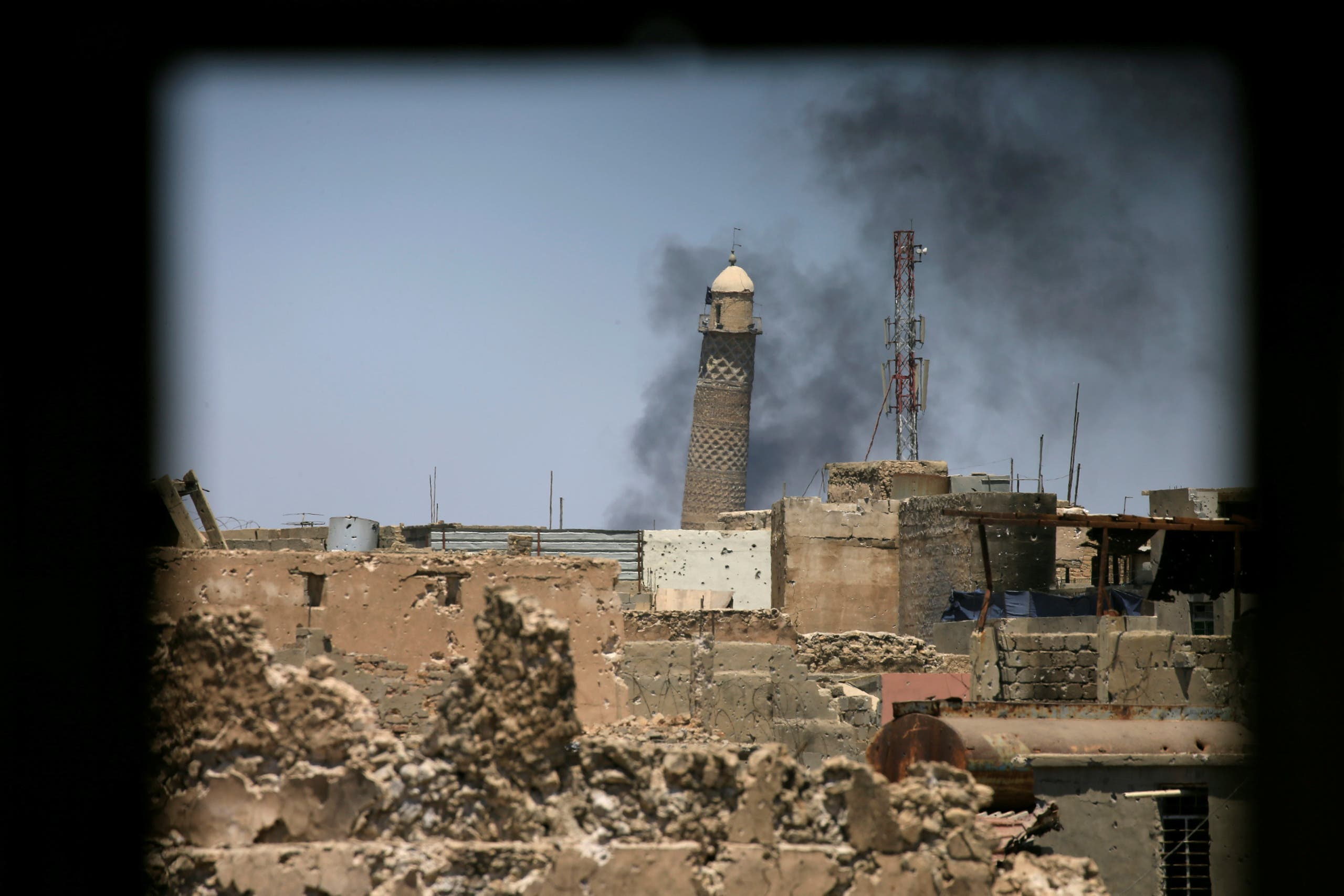ISIS prepares for last stand in Mosul mosque