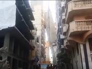 بالفيديو.. هذا حل بناية الإسكندرية المائلة!