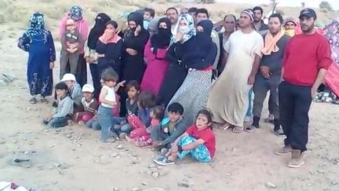 سوريون الجزائر المغرب