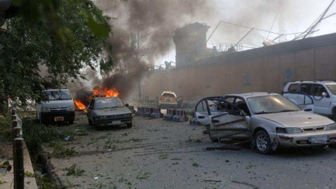 در پی انفجار کابل وظایف 4 تن از منسوبین پولیس کابل به حالت تعلیق در آمد