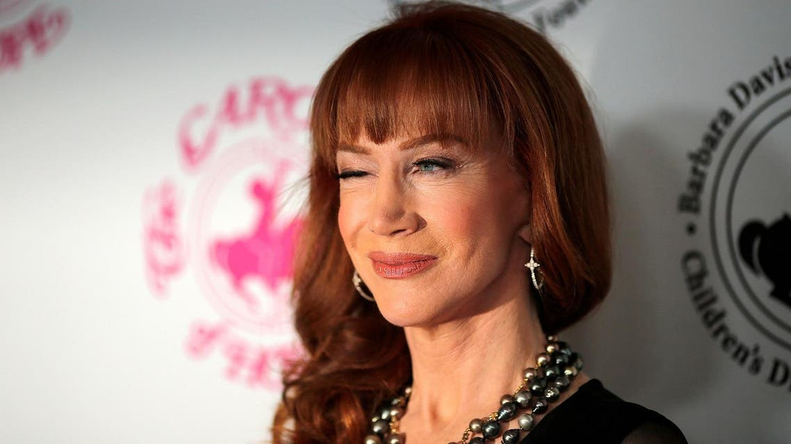 Comedian Kathy Griffin arrives to the Carousel of Hope Ball in Beverly Hills, California. (Reuters)