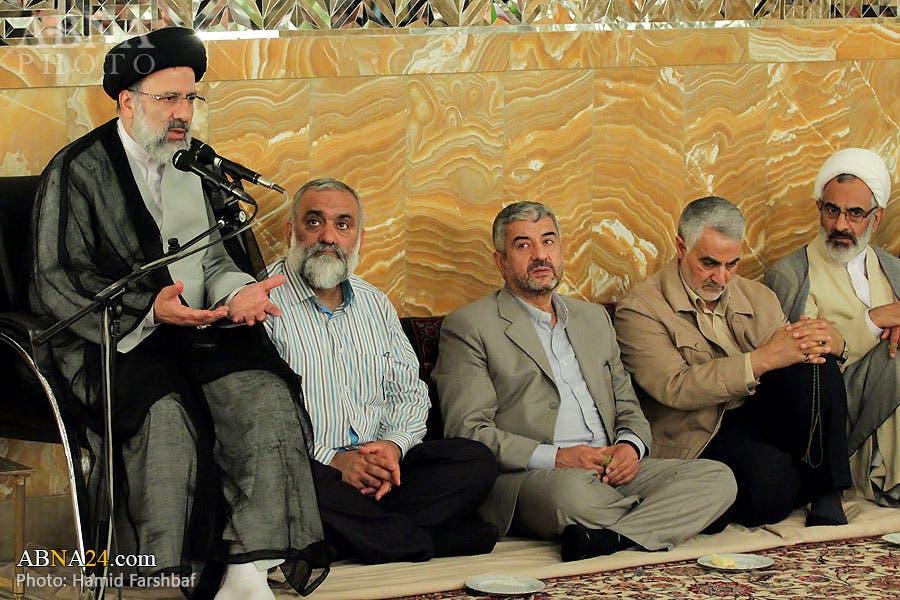لقاء قادة الحرس الثوري بابراهيم رئيسي1
