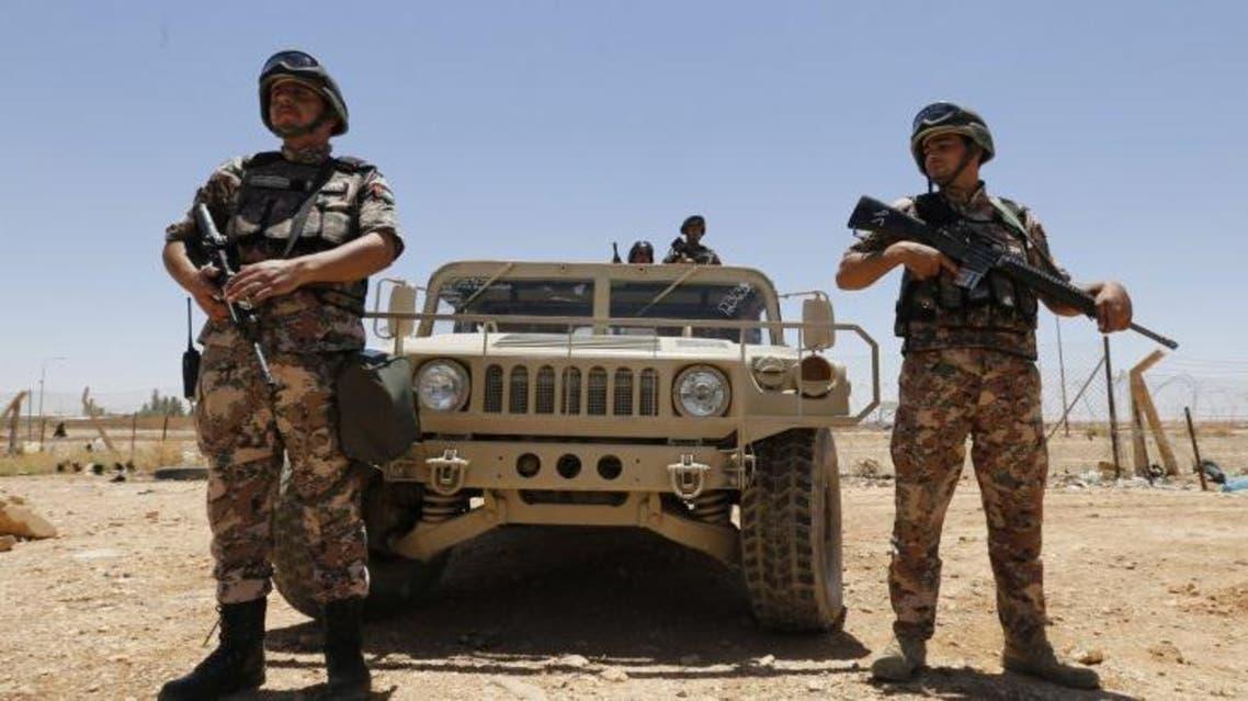 jordan border guards