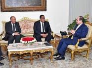 وزير خارجية السودان للسيسي:نسعى لتجاوز ما يعكر العلاقات