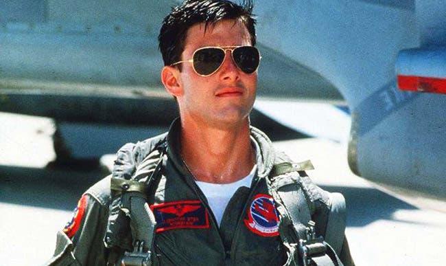 tom cruise in top gun movie, Paramount pictures