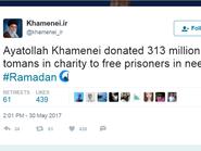 "ابنتا رجل عربي مختطف تتحديان مرشد إيران على ""تويتر"""
