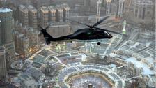 ماہ صیام میں 9 ہیلی کاپٹروں کی مدد سے حرم مکی کی نگرانی
