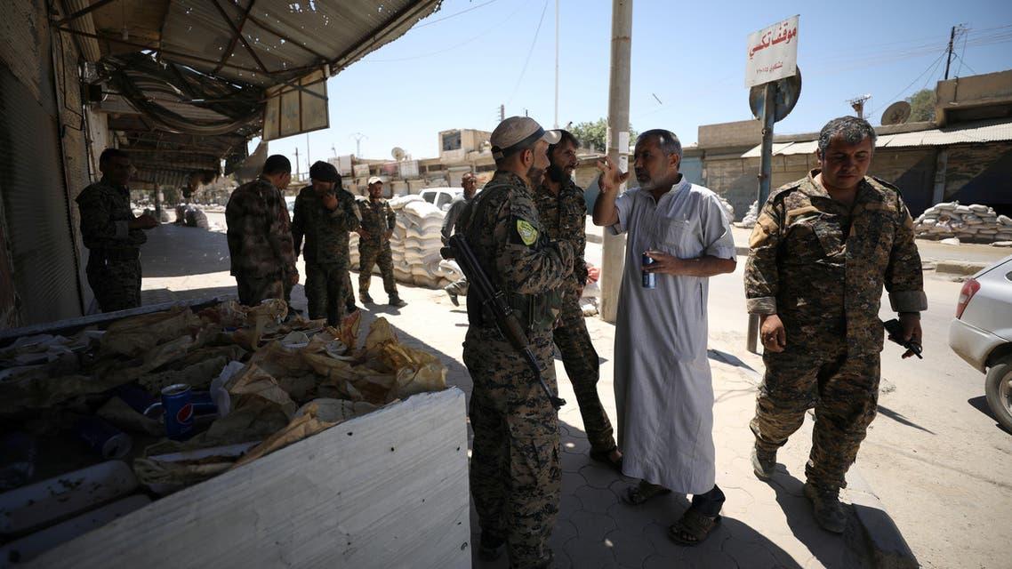 kurdish sdf reuters