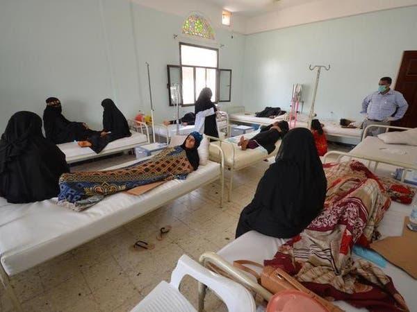 قافلة سعودية من 550 طن دواء لمكافحة كوليرا اليمن