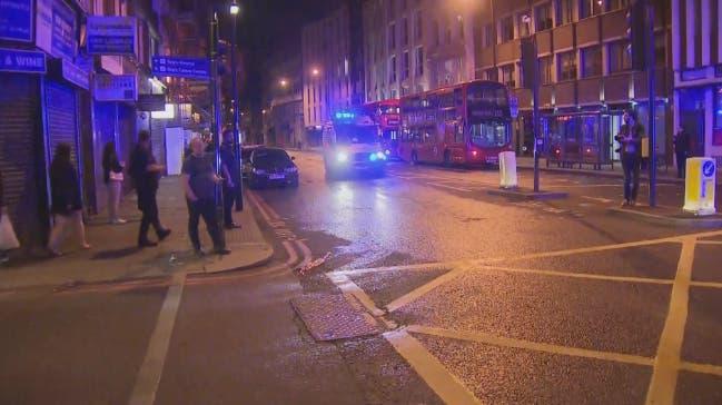 حادثة دهس لندن