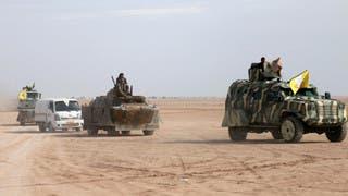 قوات سوريا الديمقراطية (أرشيفية)