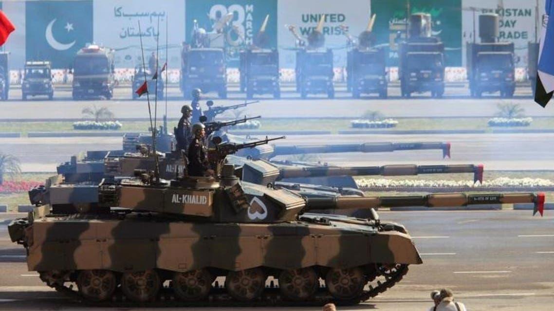 آليات الجيش الباكستاني في عرض عسكري في إسلام أباد م 23 مارس آذار 2017.
