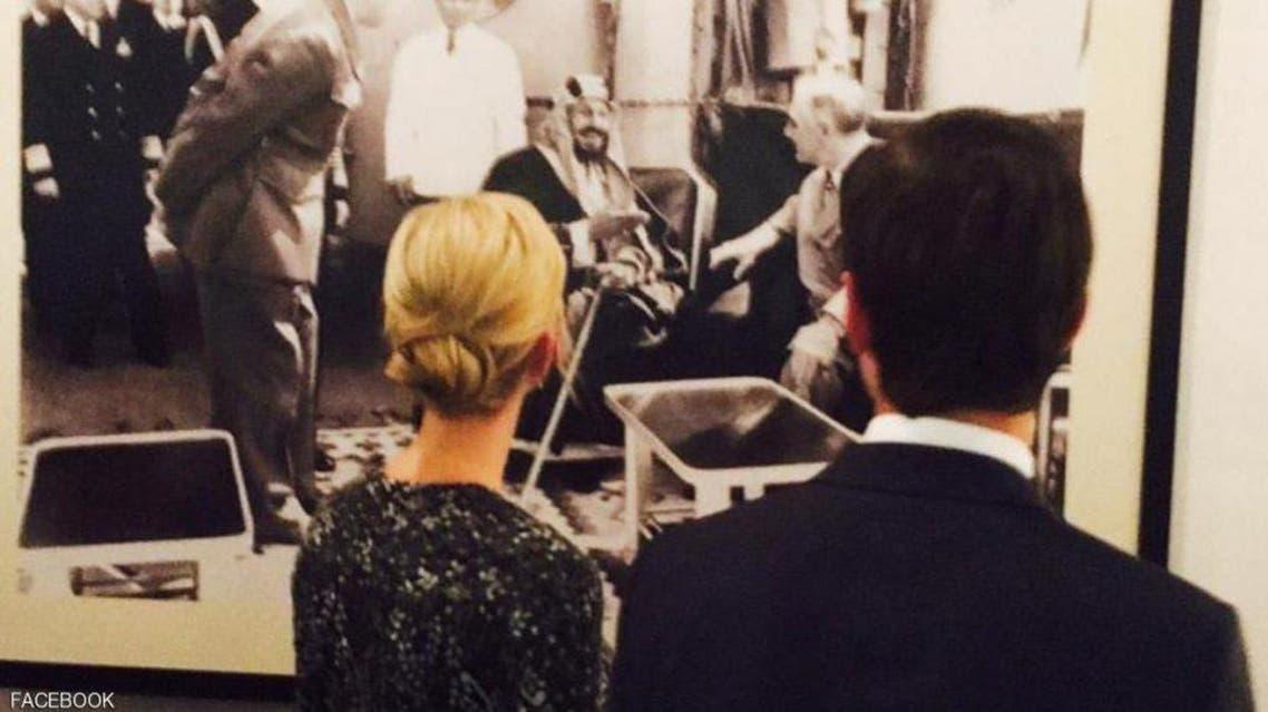 بماذا علقت ايفانكا ترمب على صورة روزفلت مع الملك المؤسس؟